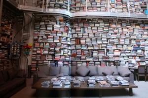 libros y nubes