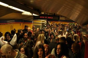 Zombis en el metro