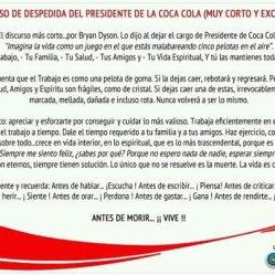 Discurso Presidente Coca Cola