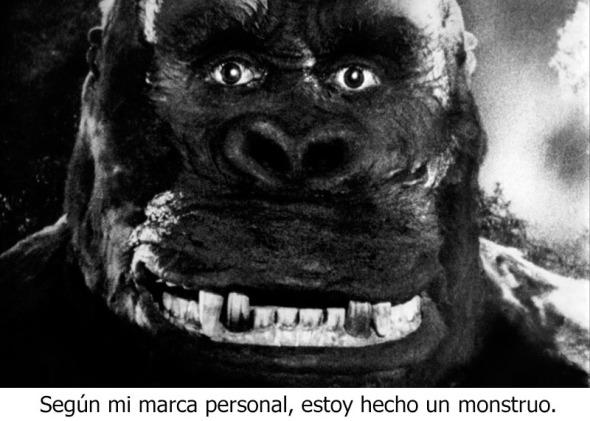 King Kong de marca personal
